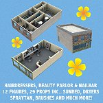 Hairdressing Salon, Beauty Parlour & Nail Bar (for Poser)