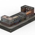 Click to see information about the 'Urban Buildings (for Lightwave)'.