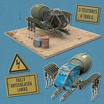 Click to see information about the 'Spider Mex (for Poser)'.