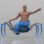 Click to see information about the 'Arachnox the Spider Lord (for Poser)'.