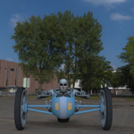 Electron Racer (for Poser)