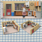 Click to see information about the 'Sally`s Kitchen (for Poser)'.