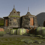 Gamekeeper`s Hut (for Poser)