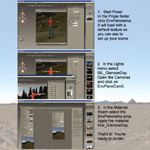 Environment Panorama Vol B (for Poser)