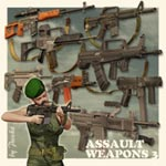 Click to see information about the 'Assault Weapons 3 (for Poser)'.
