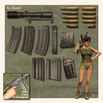 Assault Weapons 1 (for Poser)