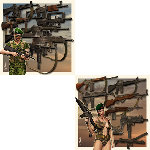 Assault Weapons Pack 2 (for Poser)