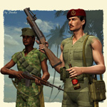 Vietnam AddOn Pack (for Poser)
