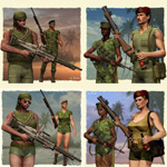 Click to see information about the 'Vietnam AddOn Pack (for Poser)'.