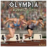 Click to see information about the 'Olympia-1_Running Events (for Poser)'.