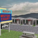 Americana Motor Court (for DAZ Studio)