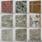 Bricks And Stone Seamless Textures (for Poser)