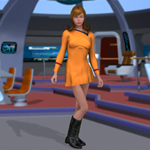 Click to see information about the 'Space Fleet Officer (V4) (for Poser)'.