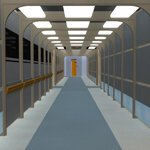 Futuristic Hallways (for Poser)