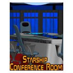 Click to see information about the 'Starship Conference Room (for iClone)'.