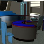 Starship Ready Room (for iClone)