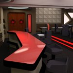Starship Observation Lounge (for DAZ Studio)
