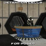 Click to see information about the 'Detention Cells (for Poser)'.