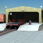 Freight Station (for Poser)