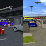 Click to see information about the 'Parking Set (for Poser)'.