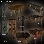 MR Dungeon Construction Kit (for Poser)