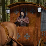 Click to see information about the 'Jail Wagon and Cart (for Poser)'.