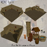 RPG Set 1 (for Poser)