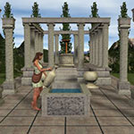 Click to see information about the 'Temple Set (for Poser)'.