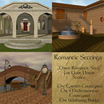 Click to see information about the 'Romantic Settings (for Poser)'.
