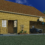 Garage with Loft & Workshop (for Vue)
