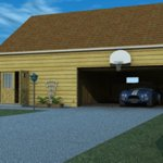 Click to see information about the 'Garage with Loft & Workshop (for Vue)'.