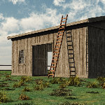 Old Barn Set (for Vue)