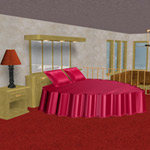 Click to see information about the 'Bridal Suite (for Poser)'.
