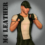 M4 Leather (for Poser)