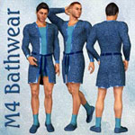 Click to see information about the 'M4 Bathwear (for Poser)'.