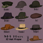 Click to see information about the 'Classic Men`s Hats (M4)'.