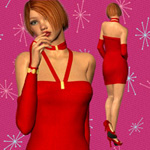 Lil` Red Dress (V4)