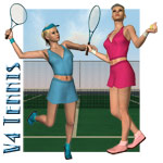 Click to see information about the 'V4 Tennis Outfit And Set'.