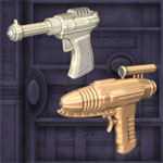 Classic Rayguns (for Poser)