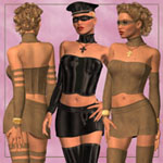 Click to see information about the 'V4 Badgirl IV (for Poser)'.