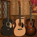 Click to see information about the 'Acoustic Guitar Set (for Poser)'.