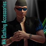 M4 Clothing Accessories (for Poser)
