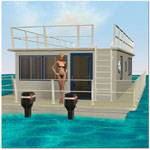 Poser Houseboat Set (for Poser)
