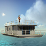 Click to see information about the 'Poser Houseboat Set (for Poser)'.