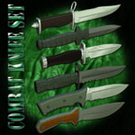 Combat Knife Set (for Poser)