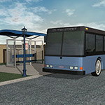 Click to see information about the 'The Bus Stop (for Poser)'.