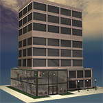 Click to see information about the 'Office Tower (for Poser)'.
