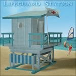 Lifeguard Station (for Poser)