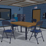 Click to see information about the 'Interrogation Room'.