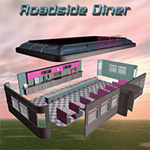 Roadside Diner (for Poser)